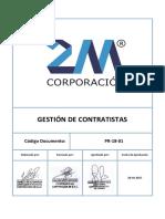 P 18 01_Gestión de Contratistas