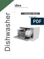 Midea WQP6 3604 AU Benchtop Dishwasher User Manual