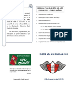 Programa Apertura Año 2015