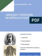Ansiedad y Depresión Psicótica y Neurótica
