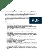 UNIX note