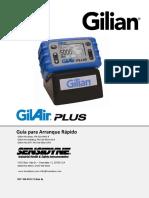Bomba de Muestreo Gilian GilAir Plus Guia Rapida ES