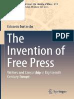 2016 Book TheInventionOfFreePress
