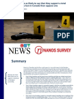 CTV - Nanos Survey - August - Gun Violence