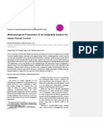 Methodological Proposition of an Integrated System for Urban Floods Control