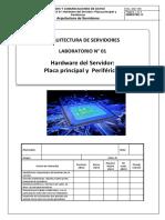 Laboratorio 01 - Arquitectura de Servidores