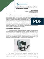 Avaliação das Condições Ambientais nas Guaritas da CDSA