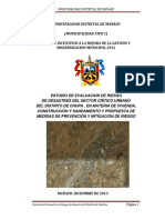 Informe Tecnico de Riesgo Mañazo 2013