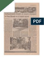Plaza Miranda Periódico