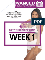 Booty Building Week 1 Advanced