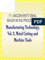 Mfg Tech Vol 2 Ed 2 Chapter 11 Unconventional