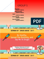 Drug Abuse Seminar