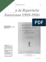 Historia Del Repertorio Americano