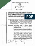 Paraguay - Seguridad Ocupacional - Enfermedades