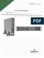 Manual UPS Liebert
