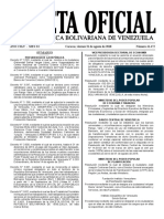 Gaceta Oficial Extraordinaria número 41.472
