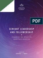 [Crystal J. Davis (Eds.)] Servant Leadership and F