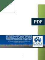 Informe Defensoria Del Pueblo 2017