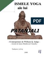 Aforismele Yoga Ale Lui Patanjali (1889)