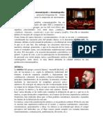 Cine Musica Danza y Teatro
