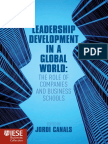 [J. Canals] Leadership Development in a Global Wor