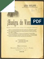 Bulffi Huelga de Vientres
