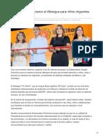 31-08-2018-En Sonora inauguraron el Albergue para niños migrantes no acompañados -tvpacifico