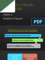 Hábito 3 - Establecer Rapport