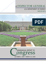 EDPT of ENERGY- OIG AUDIT -Semiannual Report- Oct 2017-March 2018_2