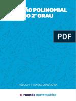 FUNÇÃO POLINOMIAL DO 2º GRAU