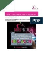 Guia y Plantilla de Plan de Marketing