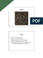 2]. Characteristics of Light