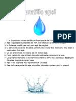 Proiect Apa