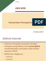 Minggu 2 (Konsep Dasar Pemrograman Web).ppt