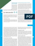 Hoyuelos La Educacion 0-3 Hoyuelos Revista INFANCIA 84