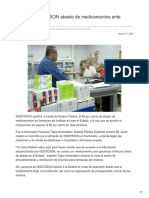 31-08-2018-Certifica ISSSTESON Abasto de Medicamentos Ante Notario-Canal Sonora