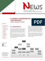 NEWS Organizzazione Per Processi