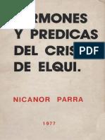 Nicanor Parra - Sermones y predicas del Cristo de Elqui.pdf