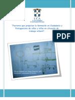 Los factores que propician la formación en Ciudadnía y Protagonismo