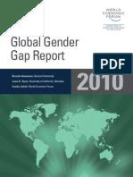 The Global Gender Gap Report 2010