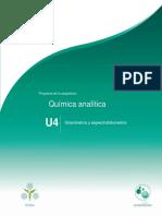 Unidad4.Gravimetriayespectrofotometria