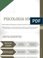 Concepto, Objetivo y Campo de Estudio, Ubicacion Del Campo General, Psicologia Social y Educación