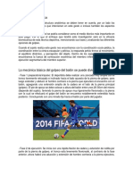 Analisis Pegada de Futbol