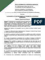 Ley de Propiedad Horizontal Nicaragua
