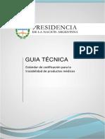 Estándar de codificación para la trazabilidad de productos médicos