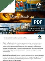 Informe de mantenimiento en una mina de cobre
