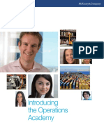 Sample Operations Academy Brochure[3414]
