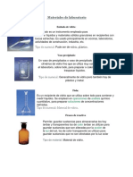 Materiales de Laboratorio Quimica