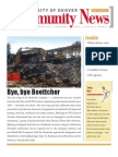 October 2010 Community News