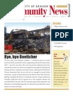 October 2010 Community News